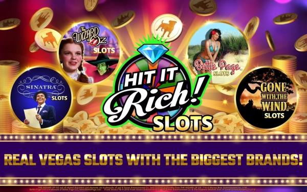 Terminátor i Sex ve městě v jednom kasinu: Toto je Hit it Rich!