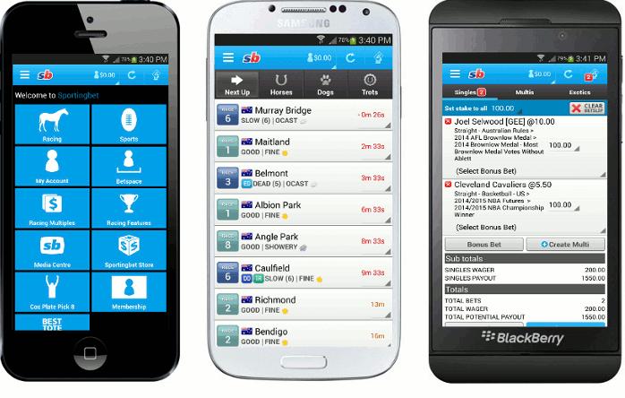 Aplikace od Sportingbet: Live sázení během olympiády i kasino přímo v iPhone