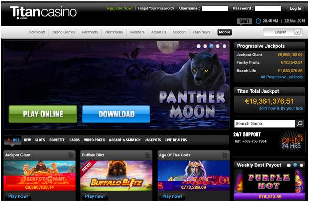 Titan Casino-Cz