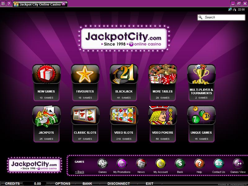 JackpotCity casino pro Mac